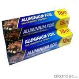 Papel aluminio de uso casero