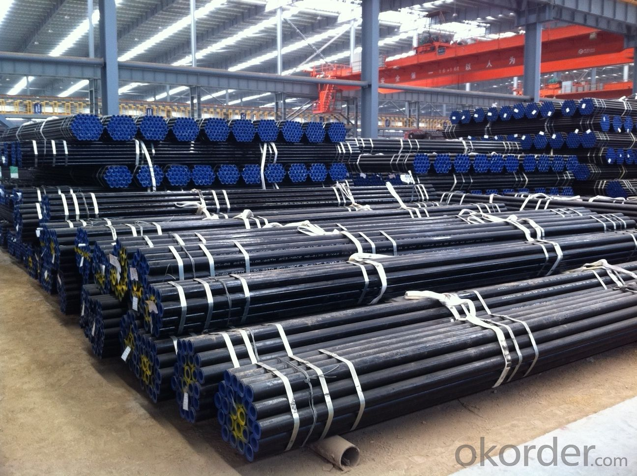 ASME API 5L GR.B  ERW Steel Pipe With High Quality