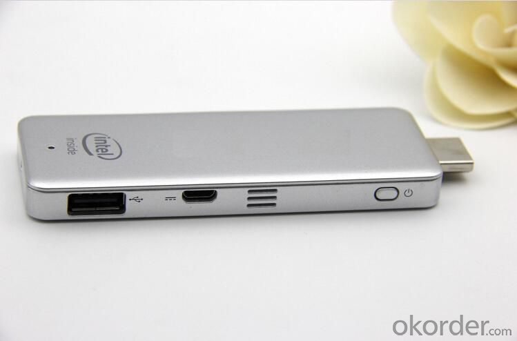Widows Mini PC Dongle Quad Core Z3735F Intel Dongle