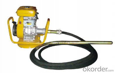 Portable Gasoline/Petrol Concrete Vibrator With Vibrator Hose Shaft Japan/Korea Type