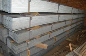 Galvanized Flat Bar with Length: 6m, 12m