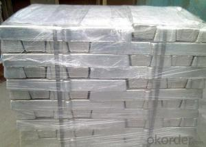 Magnesium Ingots Mg - 99.9% Min Content Purity