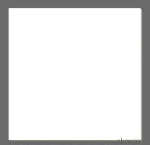 Polished Porcelain Tile The Super White Color CMAXSB1007