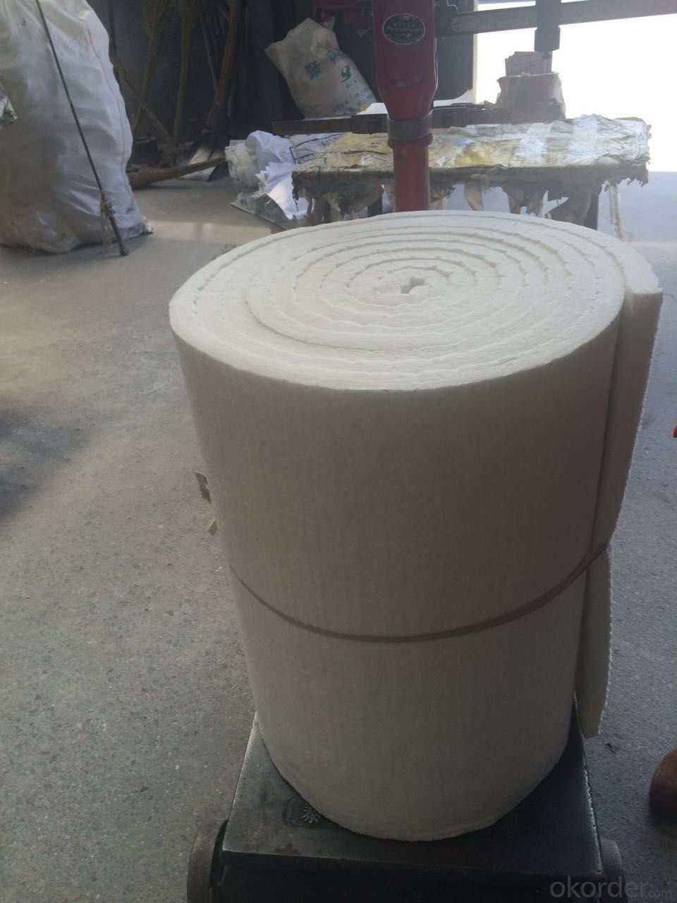 Ceramic Wool Blanket 1260 High Purity Fire Proof Lining Material