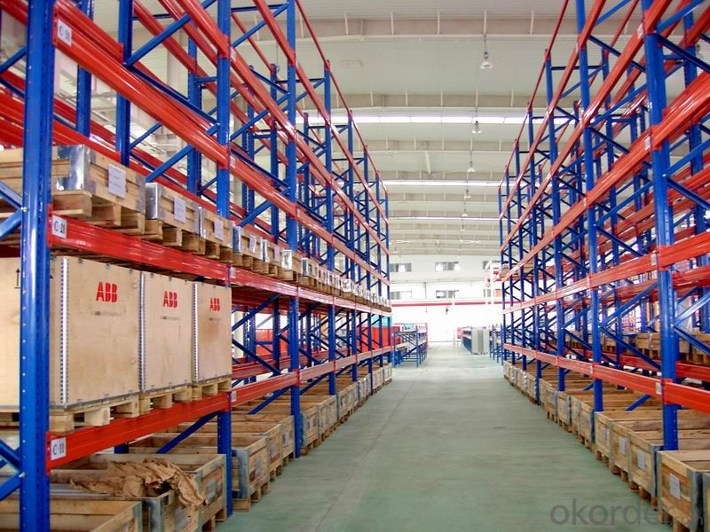 Heavy Duty Racking System for Warehouses