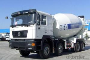15m3 Shacman Concrete Mixer Truck with Good Quality