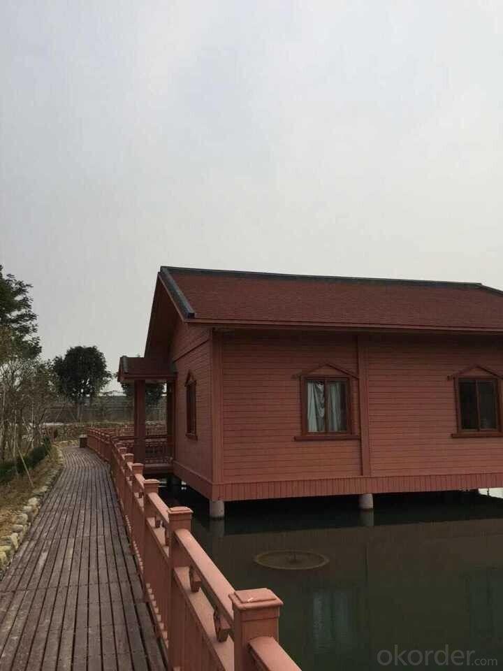 WPC Prefab Houses Wood Plastic Composite Deck board