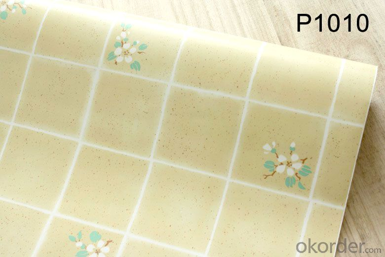 Self-adhesive Wallpaper 2015 Korean Design Beautiful PVC Wallpaper Supplies