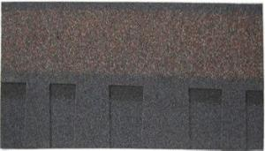 Asphalt Shingle Roof Laminated Shape (double layer) ASTM  Standard Popular Used in US Market