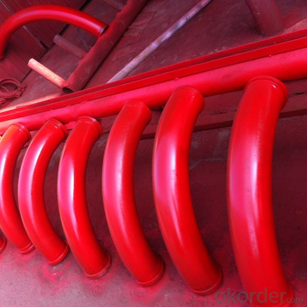 Spare Parts Concrete Pump Pipe Bends for Concrete Truck Pump