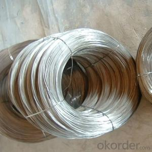 Hot Dipped Glvanised Wire with Customised Zink Coating and Tensile Strength