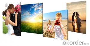 Photos Printed on Canvas with or without Wooden Frame