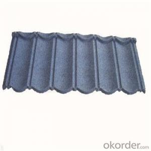 Stone Coated Metal Roofing Tile Metal Corrugated Tile Roofing Sheet