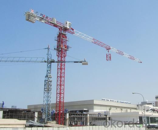 Toples Tower Crane TCP6016 With Jib length of  60M