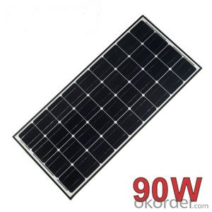 Solar Panels lMono-crystalline 90W 125*125 Panel