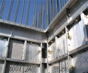Whole Aluminum Formwork System with Stair Formwork