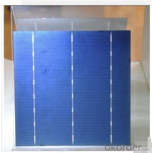 Polycrystalline Solar Cell High Quality 16.60%-18.00% Effy