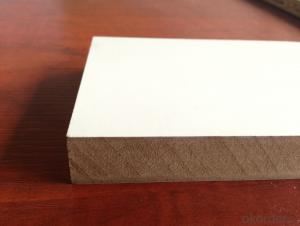 Furniture Plain MDF board  Raw MDF Sheet Melamine MDF