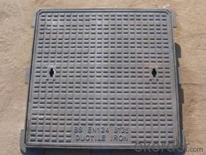 Manhole Cover BS&EN124 D400/C250/B125 for Construction Use