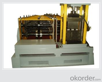 Sigma or Omega forming machine with ISO Quality System