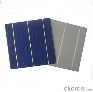 Polycrystalline Solar Cell High Quality 17.20%-17.40% Effy