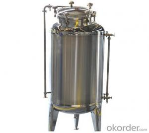 Jacketed Beer Bright Tank Stainless Steel