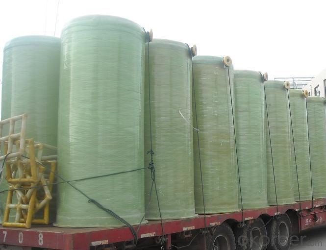 FRP Tanks Fiberglass Reinforced Plastic Tank Vertical