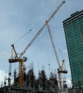Inner ClimbingTower Crane JP20Y with Jib legth of 42M