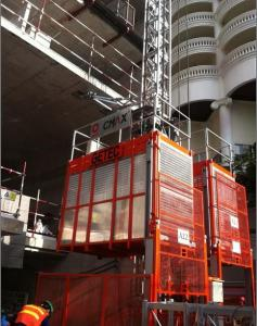 Passenger Hoist with Model of SC200/200 with 2 Ton per Cage