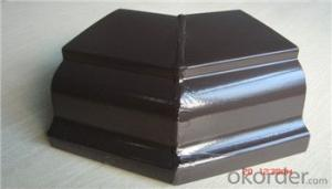 Wholesale Aluminium Gutter for Roof Gutter System 6Inch