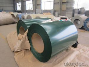 Colored Pre-Painted Galvanized Steel-Coil