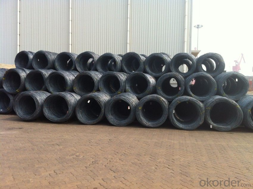Carbon Steel Hot Rolled Wire Rod with High Quality