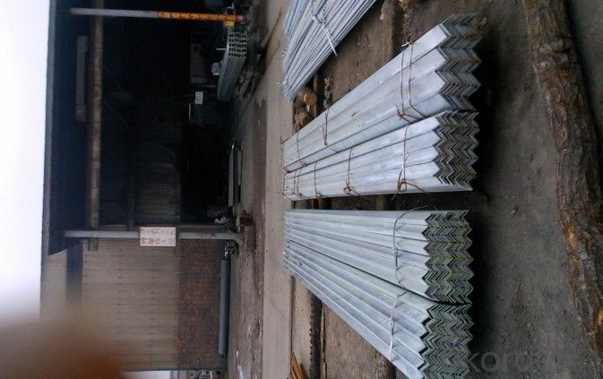 HR Equal Angle Steel Bars for Warehouses