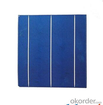 Polycrystalline Solar Cell High Quality 17.60%-17.80% Effy