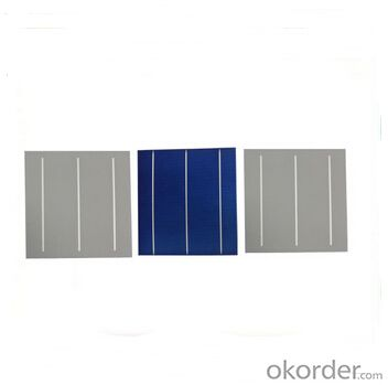 Polycrystalline Solar Cell High Quality 17.00%-18.20% Effy