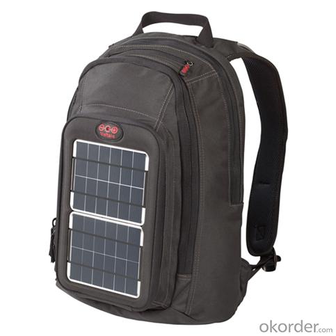 7Watts Solar Backpack Ultra-slim Highest Efficiency Solar Panel Portable Solar Charger for 5V