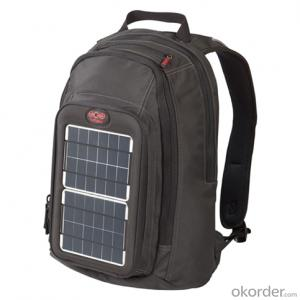 7Watts Solar Backpack Ultra-slim Highest Efficiency Solar Panel Portable Solar Charger for 5V