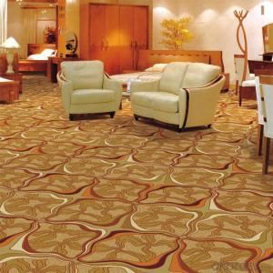 Luxury 100% Nylon Printed Commercial Wall to Wall Carpet