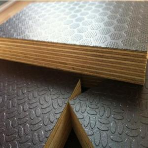 Anti-Slippery Film Faced Plywood Brown Color