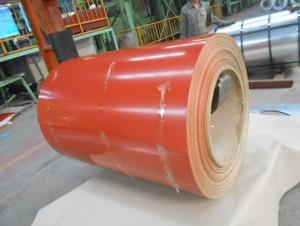 Color Coated GI Steel Sheet or Coil in Red Color