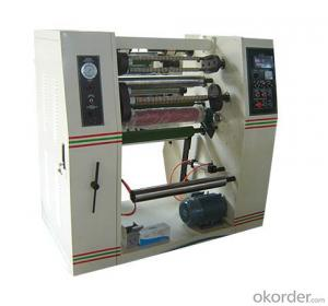 Fully Automatic Adhesive Tape Rewinding Machine