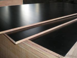 Black Film Faced Plywood Marine Plywood Poplar Core 4*8ft 18mm