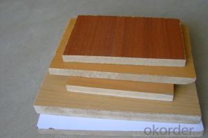 High Glossy Melamine MDF Wood Grain for Home Usage