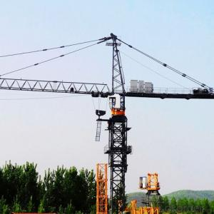 Tower Crane Flat-top Split in row  QTZ80(6010)