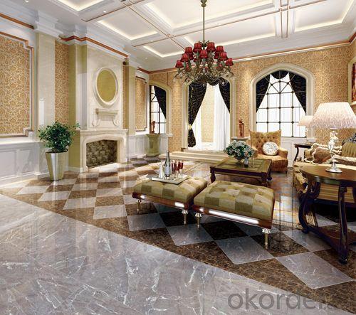 Full Polished Glazed Porcelain Tile 600 YD6A255