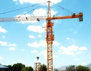 Tower Crane Split in row of weight QTZ125(6015)