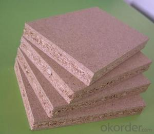 Plain Chipboard Raw Chipboard for Construction Use