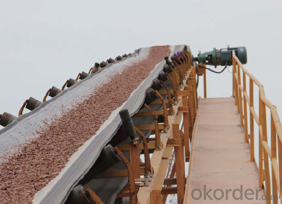 China Automatic Mineral Ore Belt Conveyor System