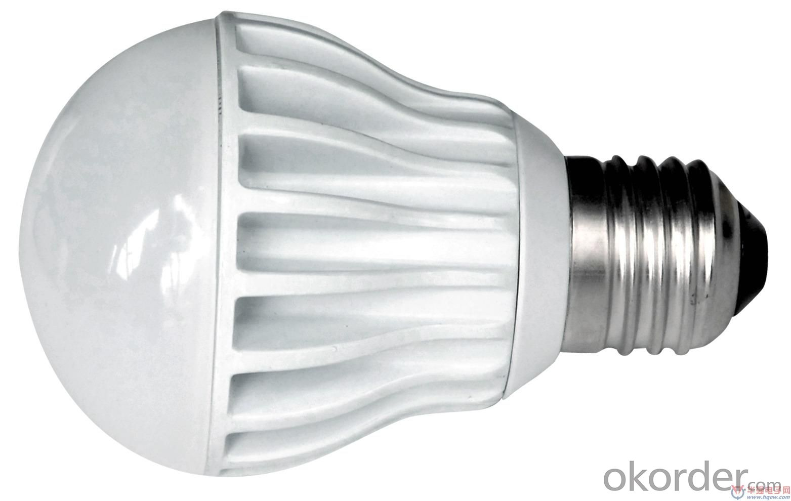 7W LED bulb light CRI80, 60W incandescent replacement, UL