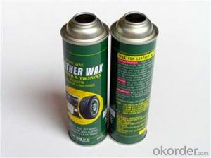 Refillable Can Tin Can For Shaving Foam, Aerosal Can